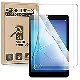 Karylax - Juego de 2 protectores de pantalla de cristal templado (dureza 9H, 3D-Touch, 100% transparente), cristal templado antiarañazos para tablet Lenovo TaB2 A10-30