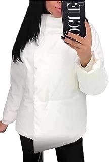 Womens Packable Ultra Light Weight Stand Collar Short Down Jacket Winter Coat
