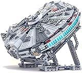 MEIDUN Soporte para Lego 75257 HalcóN Millennium Milenario, con Bloques De ConstruccióN Personalizados, para Lego Star Wars Millennium Falcon 75257 (Sin Juego De Lego)