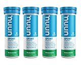 Nuun Sport: Electrolyte Drink Tablets, Watermelon, 4 Tubes (40 Servings)