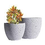 JUNROYM Ceramic Plant Pots