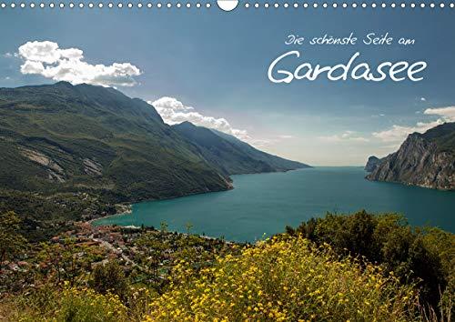 Die schönste Seite am Gardasee (Wandkalender 2021 DIN A3 quer)