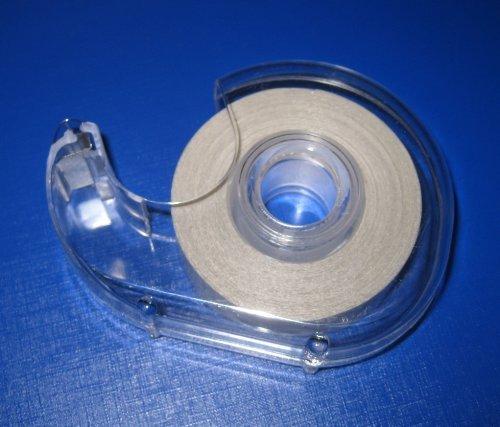 Filmwelt Shop Cinta Adhesiva de Doble Cara para Ajustar la Ropa al Cuerpo, con dispensador, no Produce alergias en la Piel