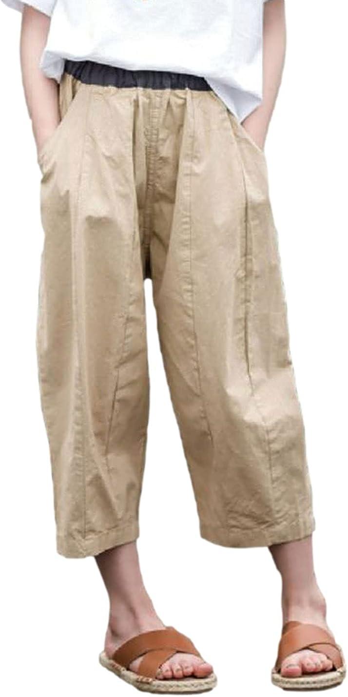 AMEBELLE Los Angeles Mall Big Girl Hippie Limited price Harem Capri Le Wide Waist Pants Elastic