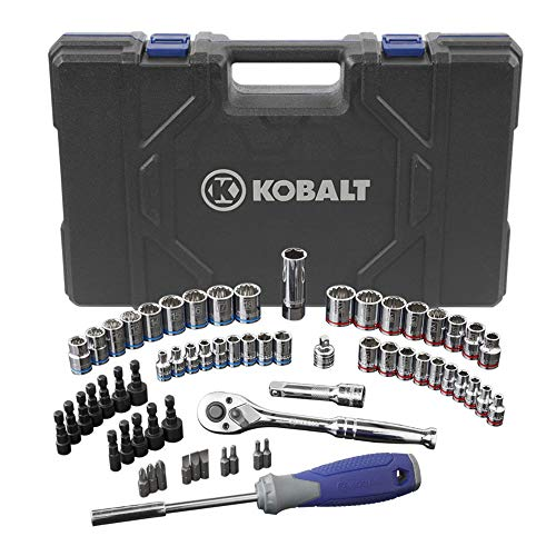 Kobalt 63 (SAE) Standard Piece Mechanic's Tool Set with Hard Case #0573339