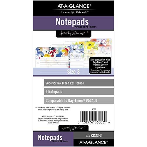 AT-A-GLANCE DR1104-040-30 - Set di avviamento, in finta pelle non datata, dorso battistrada, 7 anelli, 12 x 20 x 20 cm, taglia scrivania, alla moda, grigio (DR1104-040-30)