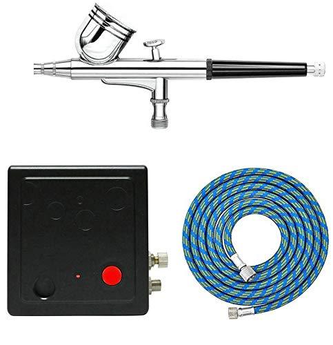 Spritzpistole, Set bestehend aus Kompressor und Airbrush