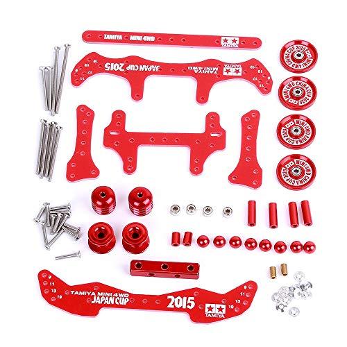 SODIAL 1 Juego MA / AR Chasis Modification Set Kit para 4WD RC Car Upgrade DIY Parts, B