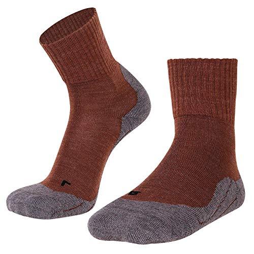 gipfelsport Wandersocken Experience aus Merino Wolle - Socken für Outdoor, Trekking I Größe 39-41 I Braun I 1x Paar