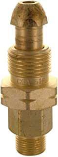 Western Enterprises 320 Brass Cylinder Adaptors, from CGA-510 POL Acetylene to CGA-200