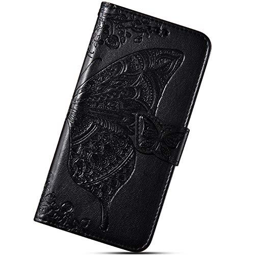 Urhaus beschermhoes voor LG G7 ThinQ beschermhoes kunyvloer, zwart.