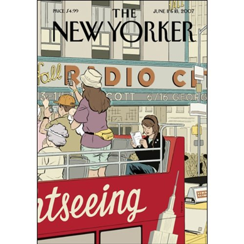 The New Yorker (June 11 & 18, 2007) audiobook cover art