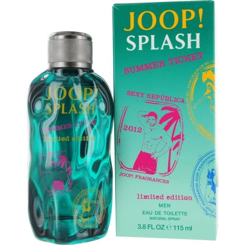 Joop Joop! splash summer ticket 2013 limited edition 115 ml edt natural spray