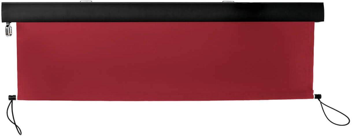 empasa Senkrechtmarkise Vertikalmarkise Balkonmarkise Sonnenschutz Balkonsichtschutz Sichtschutz Balkonrollo Rollo in verschiedenen Gr/ö/ßen und Farben