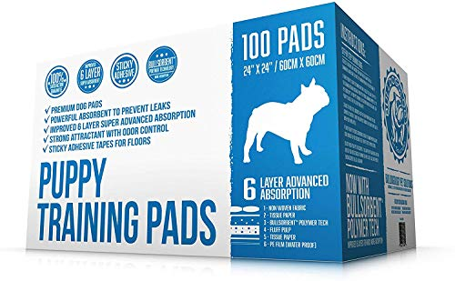 Puppy Pads With Adhesive Strips