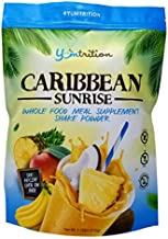 Yumtrition Meal Replacement Shakes Protein Powder Healthy Drink Supplement. Whey & Plant. Low Carb Nutritional Smoothie Ideal for Weight Loss. Gluten Free. for Women & Men. Caribbean. 15 Servings