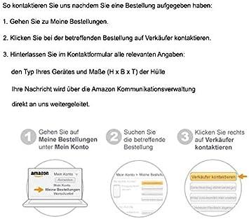 schwarz ROTRi reg; ma/ßgenaue Staubschutzh/ülle f/ür Kaffeemaschine Jura Impressa Z8