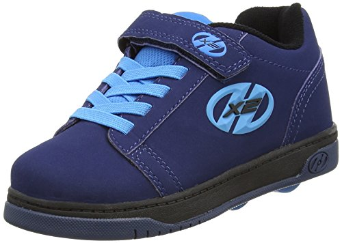 Heelys Dual Up (778050), Unisex Kinder Sneakers, Blue (Navy/New Blue), 34 EU (2 UK)