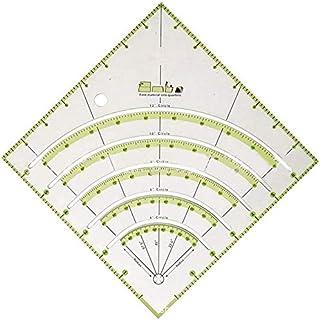 Règle de couture précise en acrylique Durbale - Règle de matelassage à la main - Règle de patchwork carrée avec lignes de ...