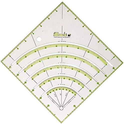 Regla de costura de acrílico Durbale de alta precisión, re