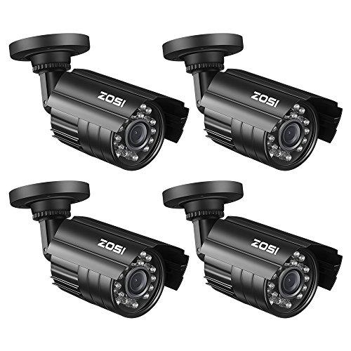 ZOSI 4 Pack Bullet Fake Cameras