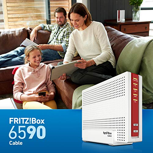 AVM FRITZ!Box 6590 Cable WLAN AC + N Router (DOCSIS-3.0-Kabelmodem, Dual-WLAN AC+N mit 1.733 Mbit/s (5 GHz) + 800 MBit/s (2,4 GHz), VoIP-Telefonanlage) - 7