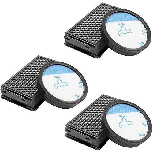 Repuestos Para Aspiradoras Filtro de 3 paquetes para la aspiradora FIT para Rowenta Powerline Extreme Cyclonic Cyclonic Piezas de repuesto Accesorios RH8021WB RH8055WA ZR903601 ( Color : Black )