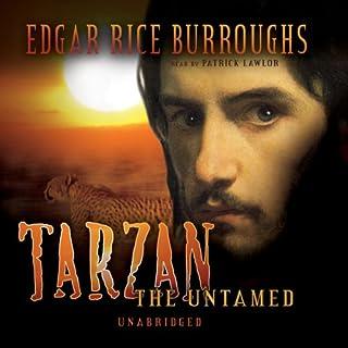 Tarzan the Untamed audiobook cover art