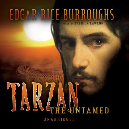 Tarzan the Untamed  audiobook cover art
