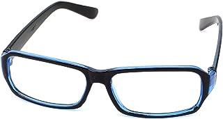 uxcell Plastic Arm Unisex Full Frame Sports Eyewear Eyes Plain Glasses Protector