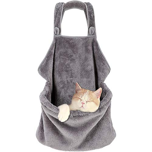 Creation Core Pet Carrier Bag Small Dog Cat Sling Accompany Carrier Bag Hands-Free Shoulder Carry Soft Breathable Cotton Pet Apron Indoors