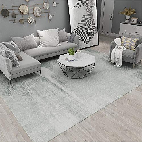 Kunsen schöne Teppich Schlafzimmer Wohnzimmer Teppich Rechteckige graue weiche Deflation Teppich auslegware deko Home 120X180CM 3ft 11.2