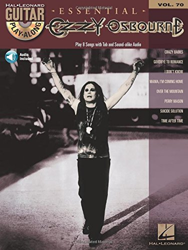 Guitar Play-Along Vol.070 Ozzy Osbourne + Cd PDF Books