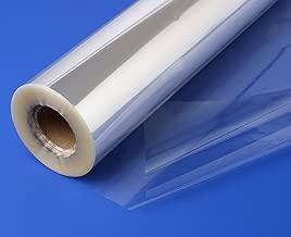 100 m y 20 m x 80 cm color blanco y transparente 100 m White Dot Accessories Attic Rollo de papel de celof/án dise/ño de lunares