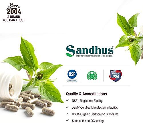 Kutki (Picrorhiza Kurroa) 1000mg Extract Liver Detox and Immune Support Vegetarian 100 Capsules