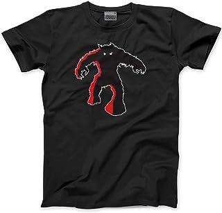 HotScamp Premium Space Invaders Monster Mens Black Gamer T-Shirt