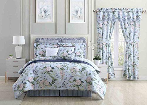 Purchase Garden Images Blue 9 Piece Ensemble by Royal Heritage for Williamsburg (Full 9 Piece Comple...