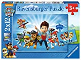 Ravensburger - Puzzle 2 x 12, Paw Patrol A (07586)