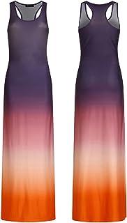 1d1008e6b0 Mingning Bohemian Floor Length Dress Women Long Summer Beach Dresses  Bodycon Sleeveless Maxi Dress Plus Size