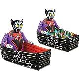 Inflatable Vampire Coffin Cooler Halloween Decoration