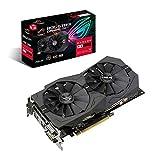 ASUS ROG Strix Radeon RX570 O8G Gaming GDDR5 DP HDMI DVI VR Ready AMD...