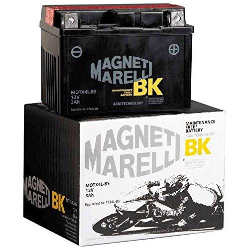 MAGNETI MARELLI - MOTX9-BS/395 : Bateria moto sin mantenimiento YTX9-BS