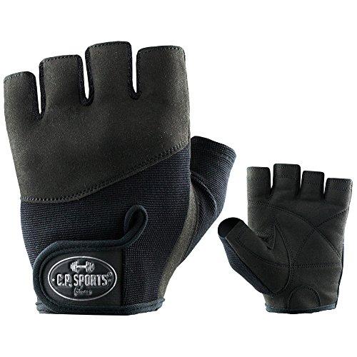 C.P. Sports Iron Komfort Gants de Fitness et Musculation XXL Multicolore - Noir