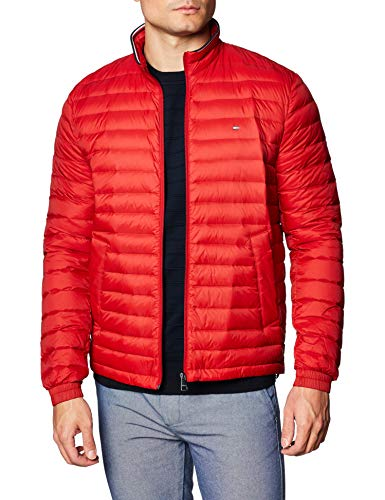 Tommy Hilfiger Herren Packable Down Jacket Jacke, Arizona Red, M