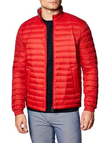Tommy Hilfiger Herren Packable Down Jacket Jacke, Arizona Red, XXL