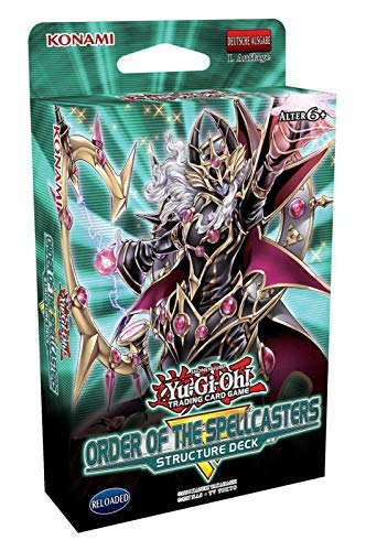 Lively Moments Yu-Gi-Oh! Karten Order of The Spellcasters Structure Deck 1. Auflage DE Deutsch Yu Gi Oh