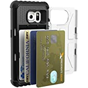 Urban Armor Gear UAG Samsung Galaxy S7 Trooper Card Case [WHITE] Feather-Light Military Drop Tested Phone Case