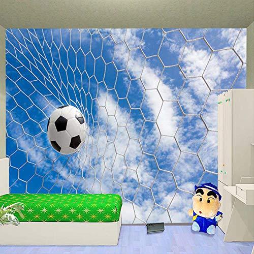 3D Moderne einfache Wandbild, Wandbild, Wandbild, Sport Fußball für Kinder Bettwäsche Sofa Hintergrundbild Tapete Home Decoration