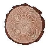 木製スライス 木材チップ 未完成 木製ブロック 天然松材 軽量 耐久性 頑丈 丈夫 丸い 木片