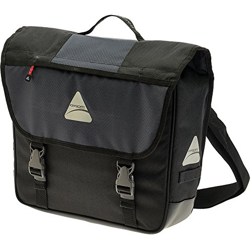 Axiom Rackbook Pro S Single Rear Pannier, Grey/Bl